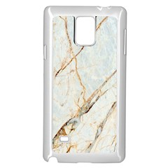 Marble Texture White Pattern Surface Effect Samsung Galaxy Note 4 Case (white)