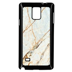 Marble Texture White Pattern Surface Effect Samsung Galaxy Note 4 Case (black)