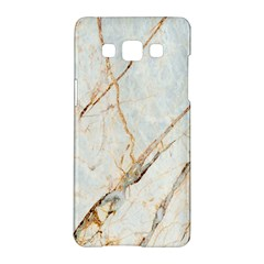 Marble Texture White Pattern Surface Effect Samsung Galaxy A5 Hardshell Case