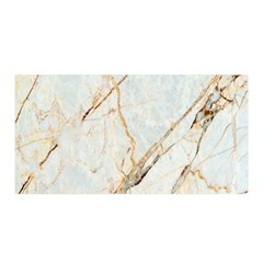Marble Texture White Pattern Surface Effect Satin Wrap