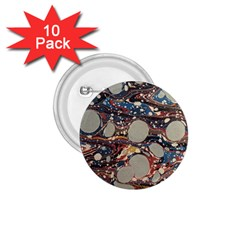 Marbling 1 75  Buttons (10 Pack)