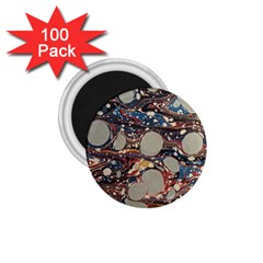Marbling 1 75  Magnets (100 Pack)