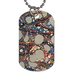 Marbling Dog Tag (one Side)