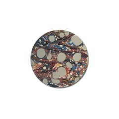 Marbling Golf Ball Marker (10 Pack)