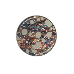 Marbling Hat Clip Ball Marker (10 Pack)