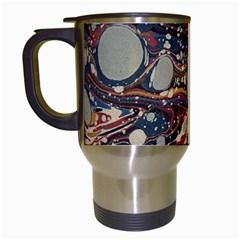 Marbling Travel Mugs (white)