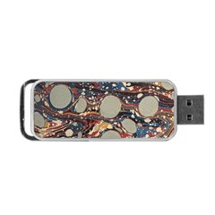 Marbling Portable Usb Flash (one Side)