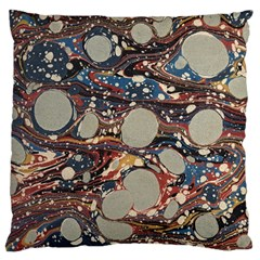 Marbling Standard Flano Cushion Case (one Side)