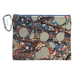 Marbling Canvas Cosmetic Bag (xxl)