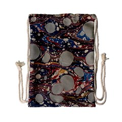 Marbling Drawstring Bag (small)