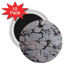 Slate Marble Texture 2 25  Magnets (10 Pack)