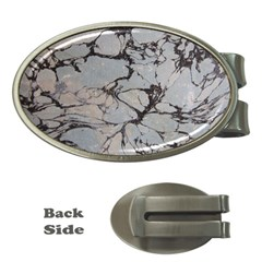 Slate Marble Texture Money Clips (oval)