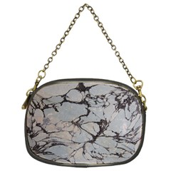 Slate Marble Texture Chain Purses (two Sides)