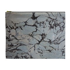 Slate Marble Texture Cosmetic Bag (xl)