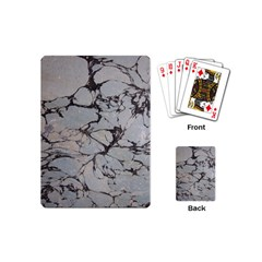 Slate Marble Texture Playing Cards (mini)