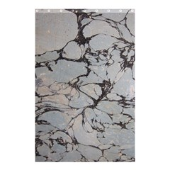 Slate Marble Texture Shower Curtain 48  X 72  (small)