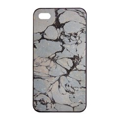 Slate Marble Texture Apple Iphone 4/4s Seamless Case (black)