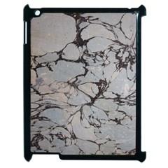 Slate Marble Texture Apple Ipad 2 Case (black)