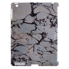 Slate Marble Texture Apple Ipad 3/4 Hardshell Case (compatible With Smart Cover)