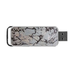 Slate Marble Texture Portable Usb Flash (two Sides)