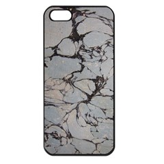 Slate Marble Texture Apple Iphone 5 Seamless Case (black)