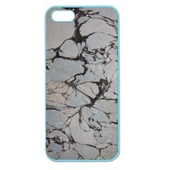 Slate Marble Texture Apple Seamless Iphone 5 Case (color)