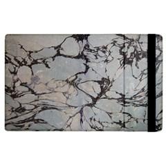 Slate Marble Texture Apple Ipad 2 Flip Case