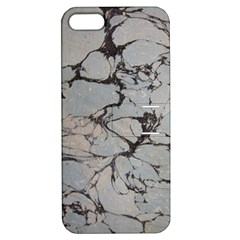 Slate Marble Texture Apple Iphone 5 Hardshell Case With Stand