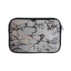 Slate Marble Texture Apple Ipad Mini Zipper Cases
