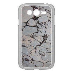 Slate Marble Texture Samsung Galaxy Grand Duos I9082 Case (white)
