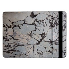 Slate Marble Texture Samsung Galaxy Tab Pro 12 2  Flip Case