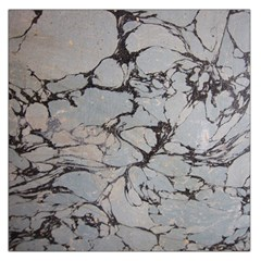Slate Marble Texture Large Satin Scarf (square)