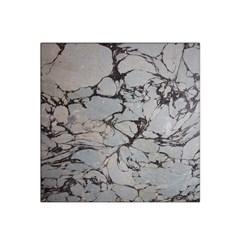 Slate Marble Texture Satin Bandana Scarf
