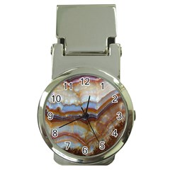 Wall Marble Pattern Texture Money Clip Watches