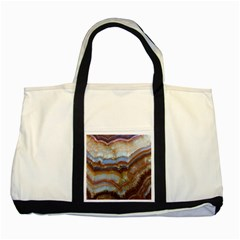 Wall Marble Pattern Texture Two Tone Tote Bag