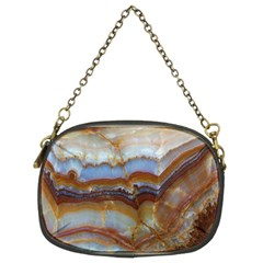Wall Marble Pattern Texture Chain Purses (two Sides)
