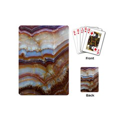Wall Marble Pattern Texture Playing Cards (mini)