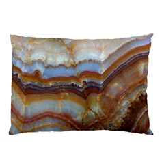 Wall Marble Pattern Texture Pillow Case (two Sides)