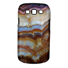 Wall Marble Pattern Texture Samsung Galaxy S Iii Classic Hardshell Case (pc+silicone)