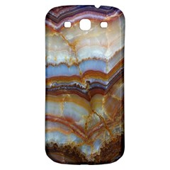 Wall Marble Pattern Texture Samsung Galaxy S3 S Iii Classic Hardshell Back Case