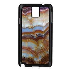 Wall Marble Pattern Texture Samsung Galaxy Note 3 N9005 Case (black)
