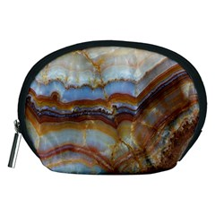 Wall Marble Pattern Texture Accessory Pouches (medium)