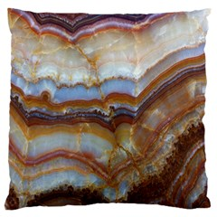 Wall Marble Pattern Texture Standard Flano Cushion Case (two Sides)