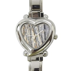 Texture Structure Marble Surface Background Heart Italian Charm Watch