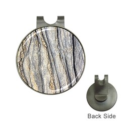 Texture Structure Marble Surface Background Hat Clips With Golf Markers