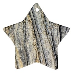 Texture Structure Marble Surface Background Star Ornament (two Sides)