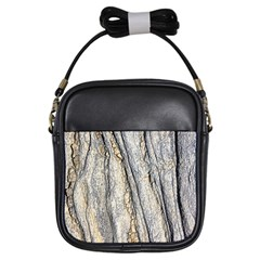Texture Structure Marble Surface Background Girls Sling Bags