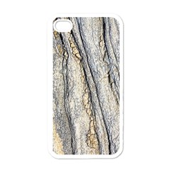 Texture Structure Marble Surface Background Apple Iphone 4 Case (white)