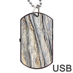 Texture Structure Marble Surface Background Dog Tag Usb Flash (two Sides)