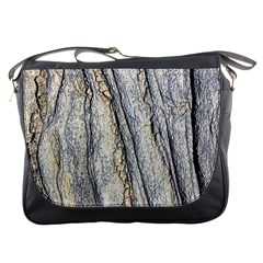 Texture Structure Marble Surface Background Messenger Bags